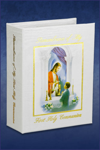 BOY TRADITIONS FIRST COMMUNION PHOTO ALBUM