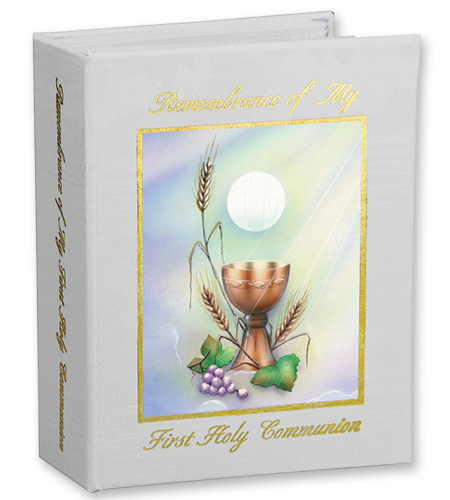 Wheat And Grapes First Communion Photo Album