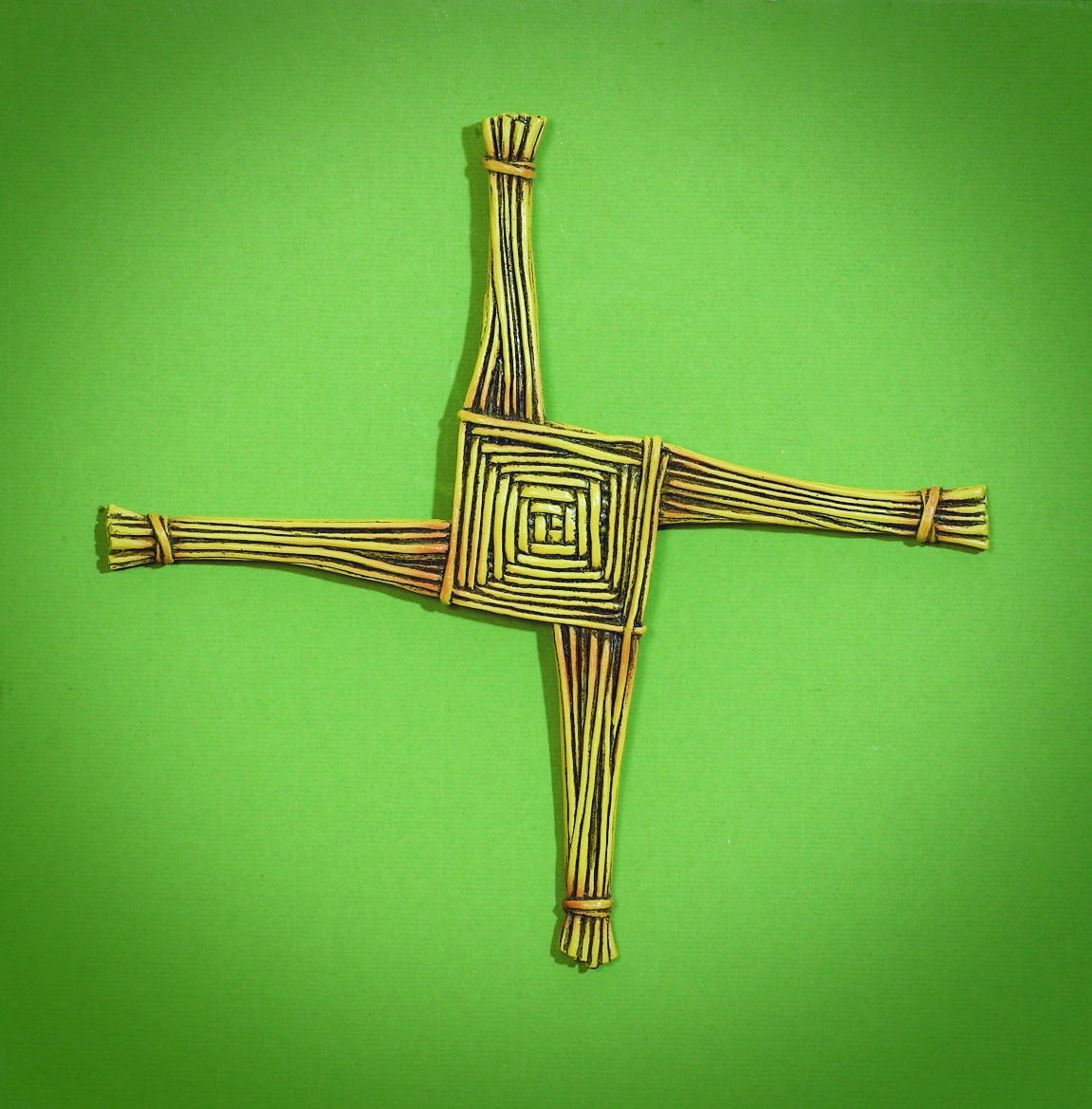 10 X 10in St.Brigid Wall Cross with Card Boxed