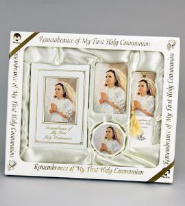Marian Children's Mass Book KATHY FINCHER BLESSINGS DELUXE FIRST COMMUNION SET GIRL