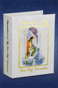 GIRL TRADITION FIRST COMMUNION PHOTO ALBUM