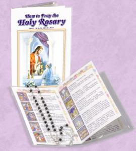 GIRL FIRST COMMUNION PRAY THE ROSARY BOOK