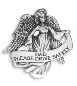 Dad Highway Auto Visor Clip
