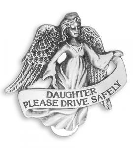Daughter Highway Auto Visor Clip