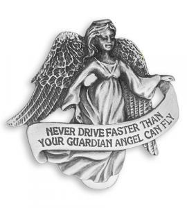 Don't Drive Faster Auto Visor Clip