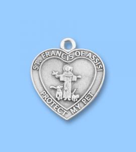 Saint Francis Pet Medal