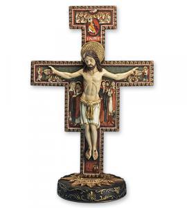 10 in Resin San Damiano Crucifix