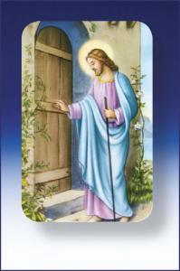 2 in x 3 in Good Shepherd Plastic Holy Card