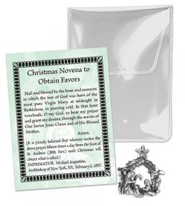 Oxidized Holy Family Packet - Christmas Novena