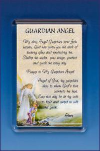 GUARDIAN ANGEL PHOTO FRAME     MAGNET