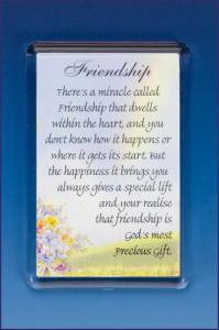 FRIENDSHIP PHOTO FRAME MAGNET