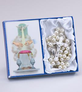 Wedding - Bride Rosary & Prayercard