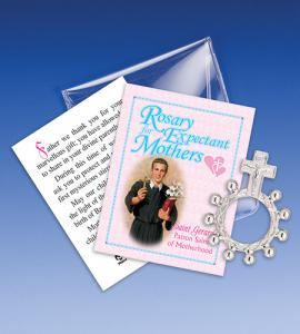 Saint Gerard Rosary Ring Packet For Expectant Mothers