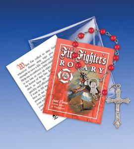 Saint Florian Firefighter One Decade Rosary