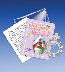 Saint Anne Mothers Rosary Ring Packet