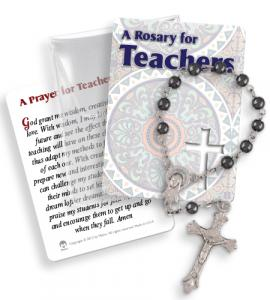 Teachers Rosary Ring Packet