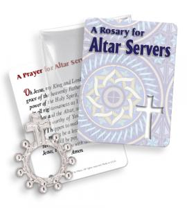 Alter Server Finger Rosary Ringpacket