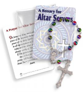 Altar Servers 1 Decade Rosary In Pvc Pouch