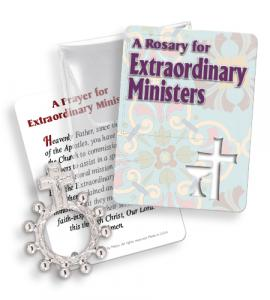 Extraordinary Ministers Finger Rosary Ring Packet