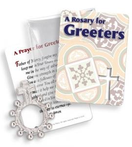 Greeters Finger Rosary Ring Packet