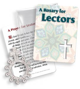 Lectors Finger Rosary Ring Packet