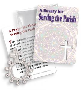 Serving The Parish Rosary Ring Packet