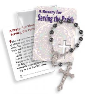 Serving Parish 1 Decade Rosary In Pvc Pouch