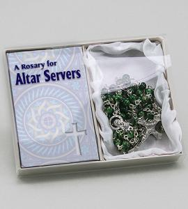Altar Servers Rosary In Blue Box