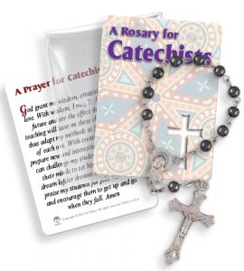 Catechists 1 Decade Rosary In Pvc Pouch