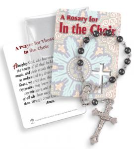 In The Choir One Decade Rosary In Pvc Pouch
