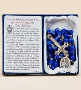 Saint Kolbe/Drug Addiction Healingrosary Boxed
