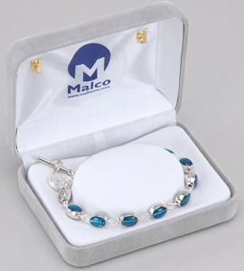 Enameled Miraculous Medal Bracelet