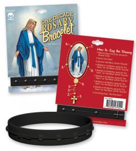 Silicone Bracelet -One Decade Black