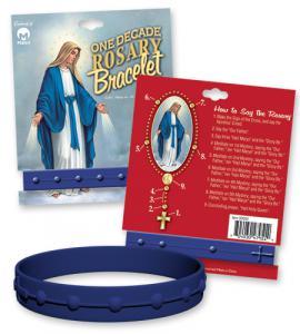 Silicone Bracelet -One Decade Blue