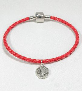 Our Lady of GUADALUPE LEATHERETTE BRACELET