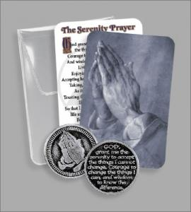 RECOVERY PVC POUCH WITH SERENITY TOKEN
