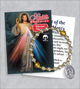 Divine Mercy Bracelet with Prayer Card