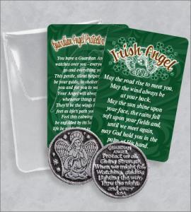 IRISH ANGEL PRAYER TOKEN PACKET