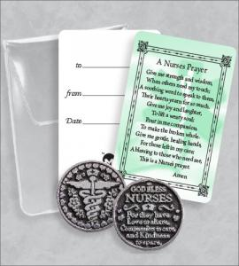 NURSE'S PRAYER TOKEN PACKET