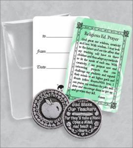 RELIGIOUS ED PRAYER TOKEN PACKET