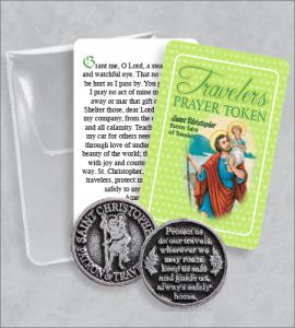 Travelers Prayer Token Packet