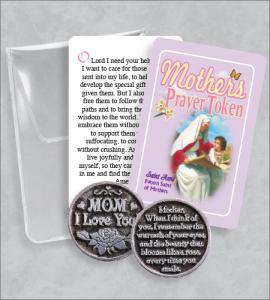 MOTHER'S PRAYER TOKEN PACKET WITH ST ANNE CARD