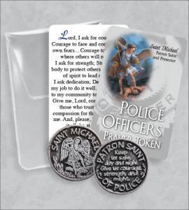 Police Office's- Saint Michael  Prayer Token Packet