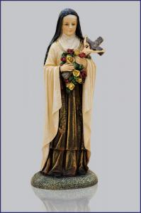 4in  ST. THERESA FLORENTINE STATUE