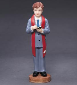 6in RESIN BOY CONFIRMATION STATUE