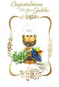 General Jubilee Priest Greeting Card