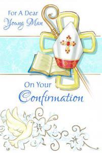 Boy Confirmation Greeting Card