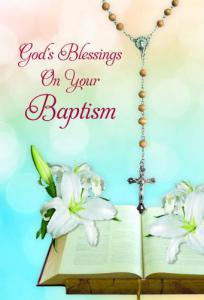 Adult Baptism Greeting Card